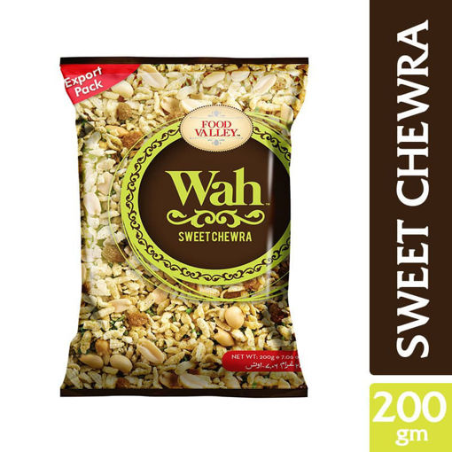 Picture of WAH FOOD VALLEY POTATO STICKS SWEET CHEWRA 200GM