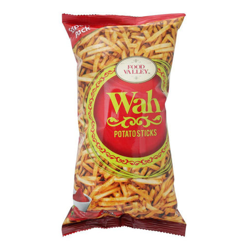 Picture of WAH FOOD VALLEY POTATO STICKS KETCHUP 150GM