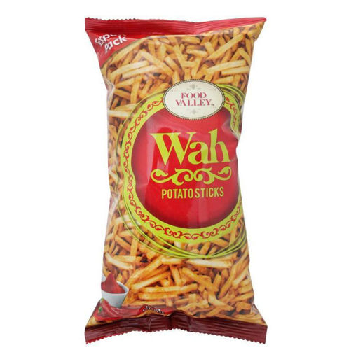 Picture of WAH FOOD VALLEY POTATO STICKS RED CHILLI 150GM