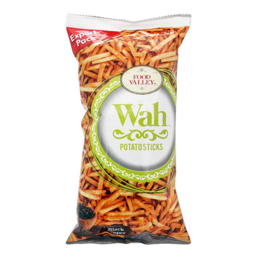 Picture of WAH FOOD VALLEY POTATO STICKS BLACK PEPPER 150GM