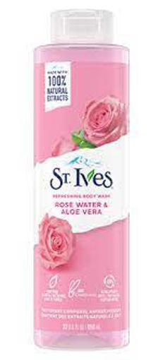 Picture of ST.IVES EXFOLIATING BODY WASH ROSE WATER ALOE VERA