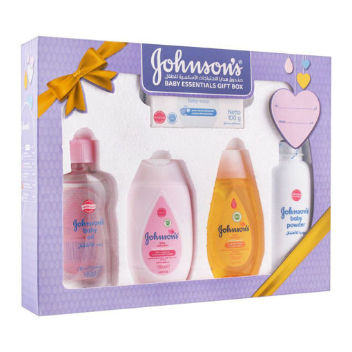 Picture of JOHNSONS BABY GIFT SET