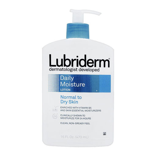 Picture of LUBRIDERM DAILY MOISTURE NORMAL TO DRY SKIN LOTION, 16 FL 473ML
