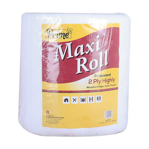 Picture of Prime Maxi Roll Embossed Tissue