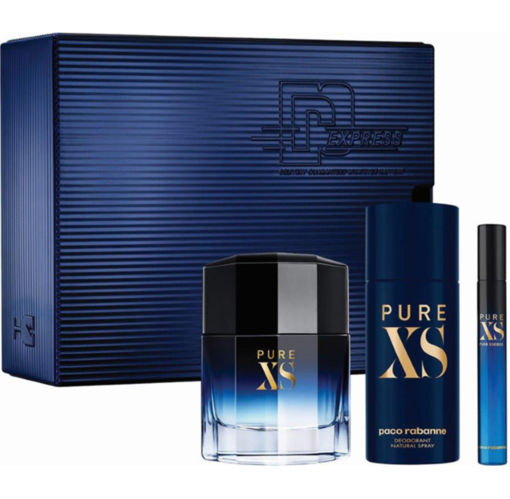 Picture of PACO RABANNE PURE XS EDT GIFT SET FOR HIM
