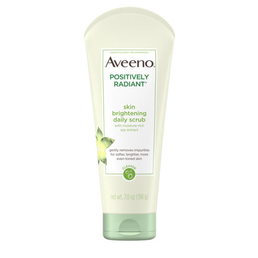 Picture of AVEENO POSITIVELY RADIANT SKIN BRIGHTENING DAILY SCRUB 198 G