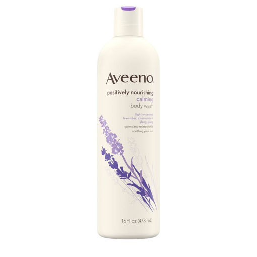 Picture of AVEENO POSITIVELY NOURISH CALMING BODY WASH 473ML