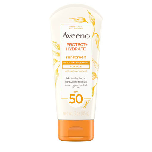 Picture of AVEENO PROTECT+HYDRATE SUNSCREEN FOR FACE SPF50 (85G)