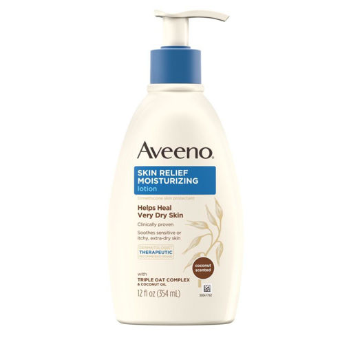 Picture of AVEENO SKIN RELIEF MOISTURIZING LOTION HELPS HEAL VERY DRY SKIN 354ML