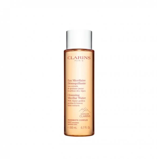 Picture of CLARINS EAU MICELLAIRE CLEANSING MICELLAR WATER 200ML