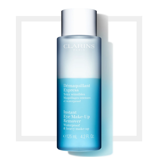 Picture of CLARINS DEMAQUILLANT EXPRESS INSTANT EYE MAKE-UP REMOVER 125ML