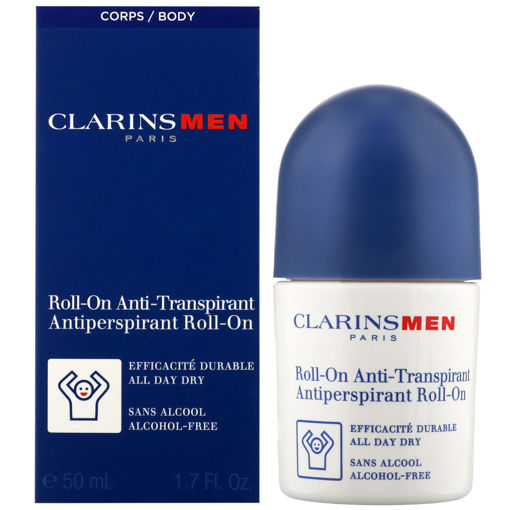 Picture of CLARINS MEN ROLL ON ANTI TANSPIRANT 50ML