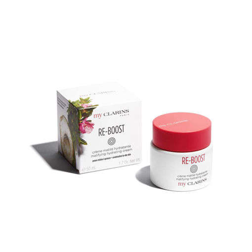 Picture of MY CLARINS RE-BOOST MATIFYING HYDRATING CREAM COMBINATION TO OILY SKIN 50ML