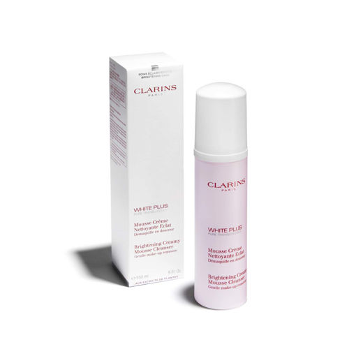 Picture of CLARINS WHITE PLUS BRIGHTENING CREAMY MOUSSE CLEANSER 150ML