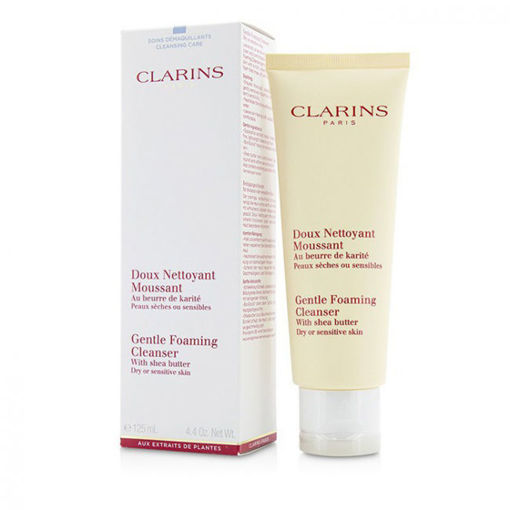Picture of CLARINS DOUX NETTOYANT MOUSSANT GENTLE FOAMING CLEANSER SENSITIVE SKIN 125ML