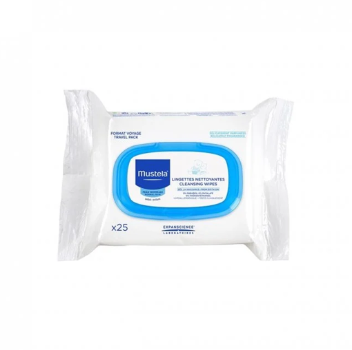 Picture of MUSTELA BABY WIPES 25X