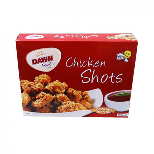 Picture of DAWN CHICKEN SHOTS 780G ECONOMY PACK