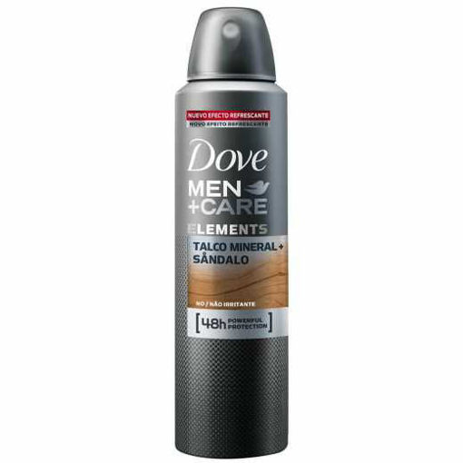 Picture of DOVE MEN+ CARE ELEMENTS TALCO MINERAL SANDALO 48H POWERFUL PROTECTION 150ML