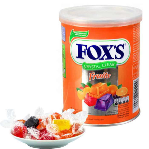 Picture of FOXS CRYSTAL CLEAR FRUITS TIN 180G