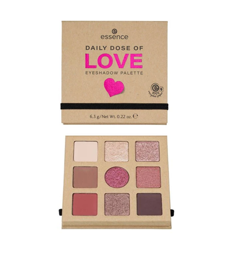 Picture of ESSENCE DAILY DOSE OF LOVE EYESHADOW PALETTE 6,3G