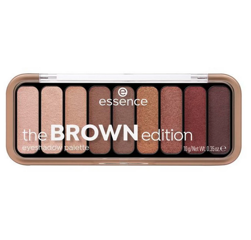 Picture of ESSENCE THE BROWN EDITION EYESHADOW PALETTE 10G