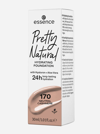 Picture of ESSENCE PRETTY NATURAL HYDRATING FOUNDATION 170 NEUTRAL CASHMERE 30ML