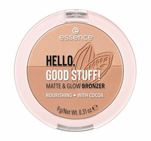 Picture of ESSENCE HELLO GOOD STUFF MATTE & GLOW BRONZER 10 COCOA-COOL 9G