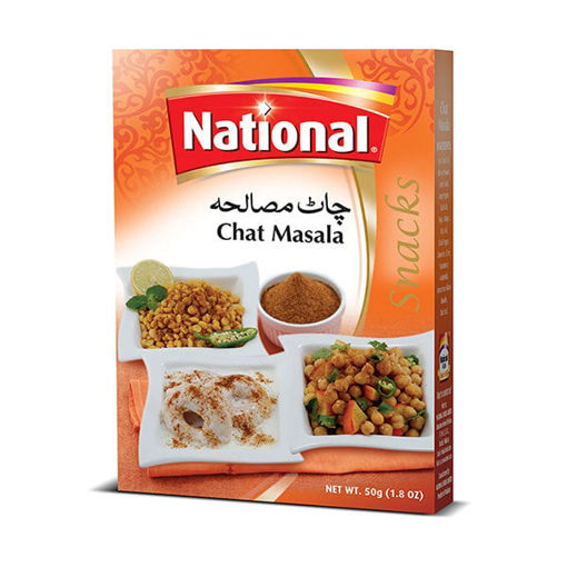 Picture of NATIONAL CHAT MASALA 50G