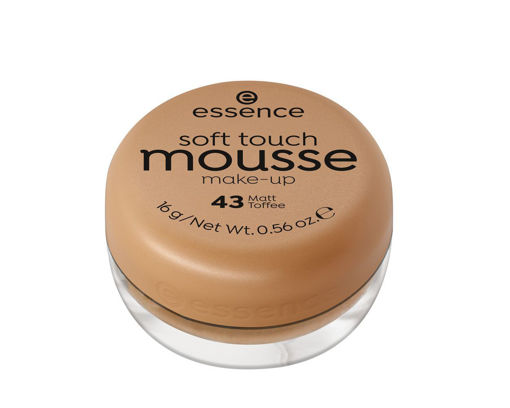 Picture of ESSENCE SOFT TOUCH MOUSSE MAKE UP 43 MATT TOFFEE 16G