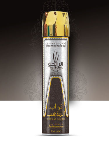 Picture of THE SCENT AIR FRESHNER TURAB AL DHAHAB 300ML