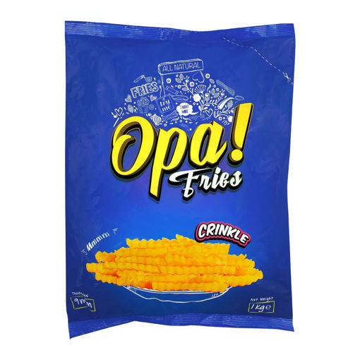 Picture of OPA FRIES CRINKLE 900GM