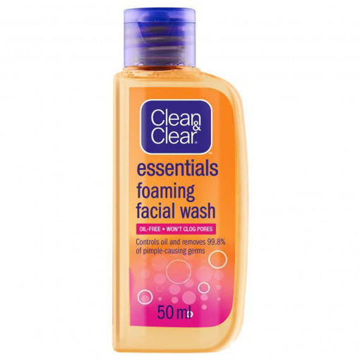 Picture of CLEAN & CLEAR ESSENTIALS FOAMING FACIAL WASH 50ML