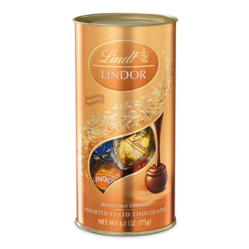 Picture of LINDT LINDOR ASSORTED FILLED CHOCOLATE 175G