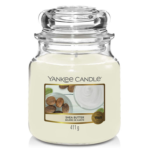 Picture of YANKEE CANDLE CLASSIC MEDIUM JAR SHEA BUTTER 411G