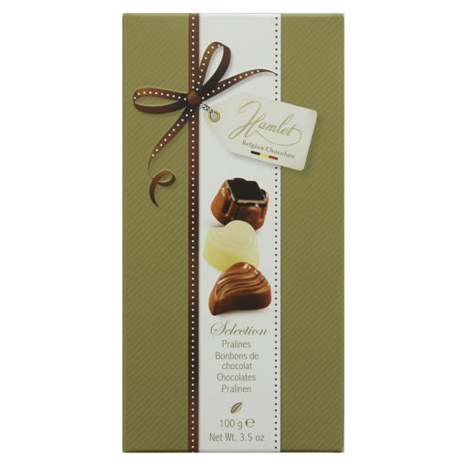 Picture of HAMLET BELGIAN SELECTION CHOCOLATE 100G