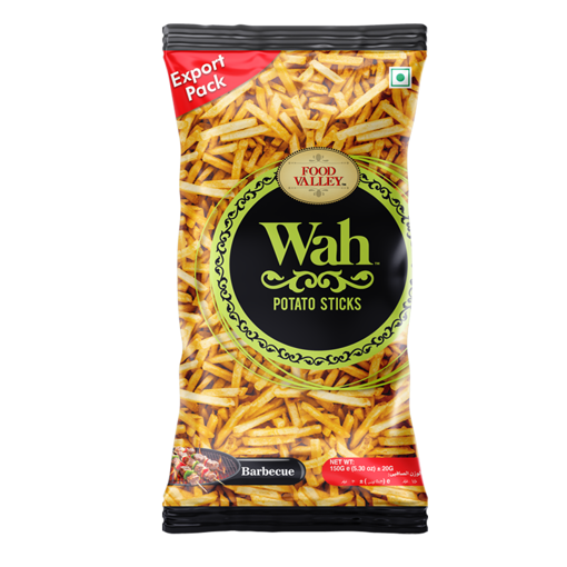 Picture of FOOD VALLEY WAH POTATO STICKS BARBECUE 150G