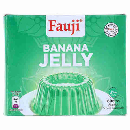 Picture of FAUJI BANANA JELLY 80GMS