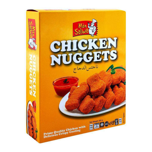 Picture of MONSALWA CHICKEN NUGGETS 260G