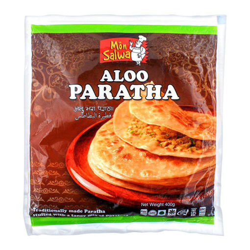 Picture of MONSALWA ALOO PARATHA 4PC 400G