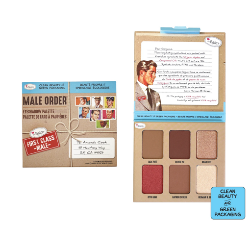 Picture of THE BALM FIRST CLASS MALE EYESHADOW PALETTE