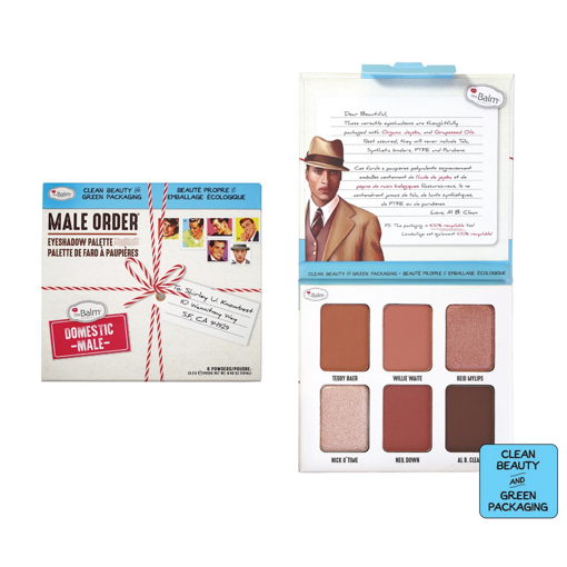 Picture of THE BALM DOMESTIC MALE EYESHADOW PALETTE
