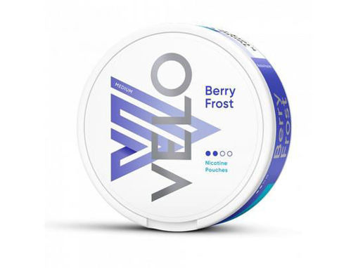 Picture of VELO BERRY FROST MEDIUM NICOTINE POUCHES